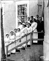 Olympia High School Domestic Science Class posing on hte steps of the Education Building, Alaska Yukon Pacific Exposition (AYP 24).jpeg