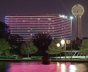 Omni Dallas Hotel - Image: Omni Hotel Dallas 2011 11 12