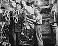 On Board Hm Corvette Widgeon, August 1943, in the North Sea and at Harwich, Men of the Corvette Widgeon Go About the Everyday Jobs of Their Wartime Routine. A18547.jpg
