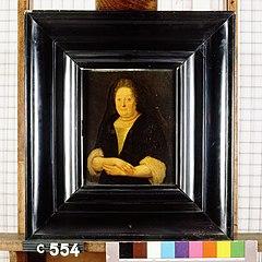 Maria Pots. Echtgenote van Thomas van der Mark