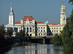 Oradea, Romania, city hall