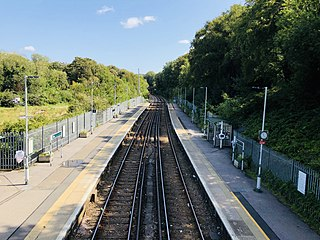 Ore railway station Railway station in East Sussex, England