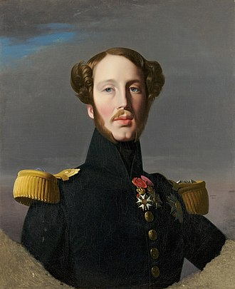 Ferdinand Philippe, Duke of Orléans - Orléans by Jean Auguste Dominique Ingres