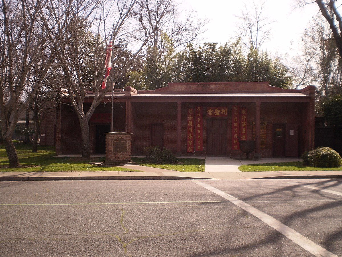 Oroville California Map >> Oroville Chinese Temple - Wikipedia