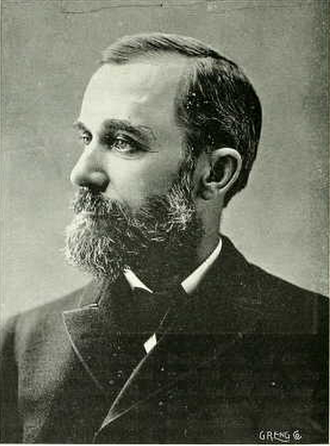 Oscar Clute - Clute from 1896 M. A. C. yearbook