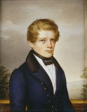 Otto von Bismarck - Bismarck at 21, 1836