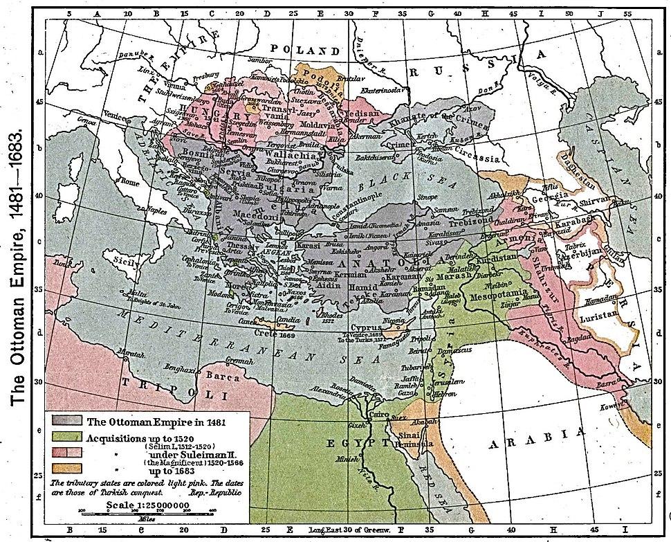 Ottoman empire 1481-1683