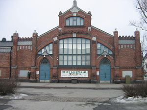 Karl Lindahl (architect) - Market hall in Oulu, 1901