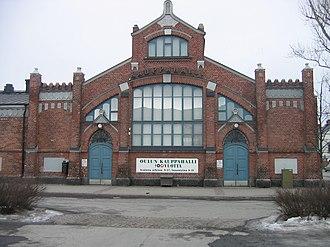 Karl Lindahl (architect) - Market hall in Oulu, 1901