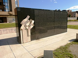 Monument to Victims of Terrorism (1968–2007)