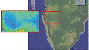 Owambo Basin - Image: Owambo Basin