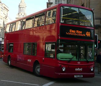 Go-Ahead Group - Oxford Bus Company Alexander ALX400 bodied Dennis Trident 2 in Oxford October 2008