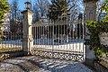 Pörtschach am Wörther See Johannaweg 5 Einfahrtstor der Villa Wörth 21012018 2301.jpg