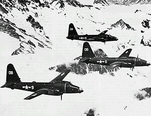 Patrol Squadron 4 (United States Navy) - VP-4 P2V-2s over Alaska in 1948