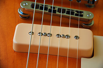 Single coil guitar pickup - Gibson P-90 soap bar