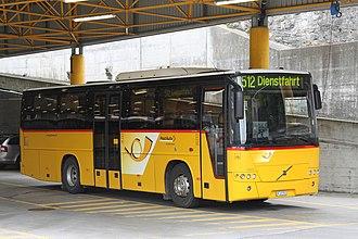 Volvo 8700 - Volvo 8700 on B12B in Thusis, Switzerland.