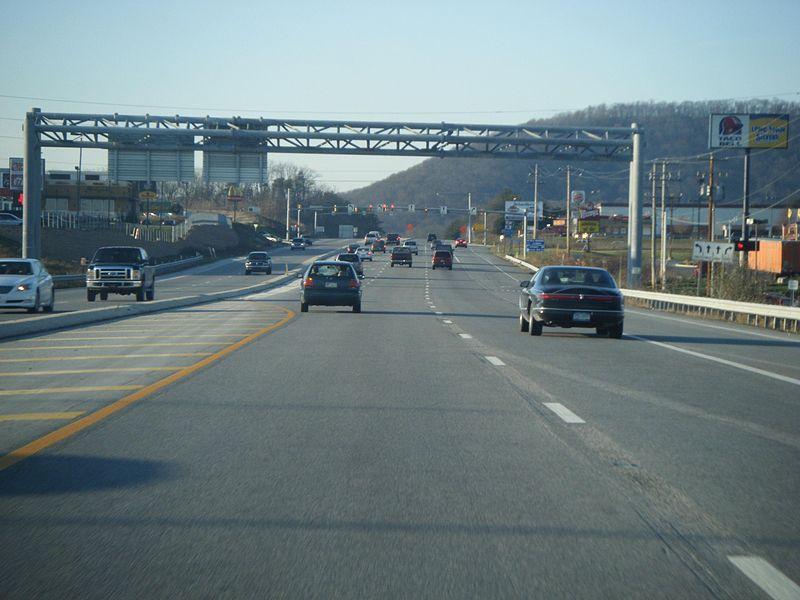 File:PA 61 NB past I-78-US 22.JPG