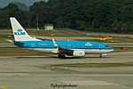 PH-BGW Boeing B737-7K27W B737 - KLM (29335229663).jpg