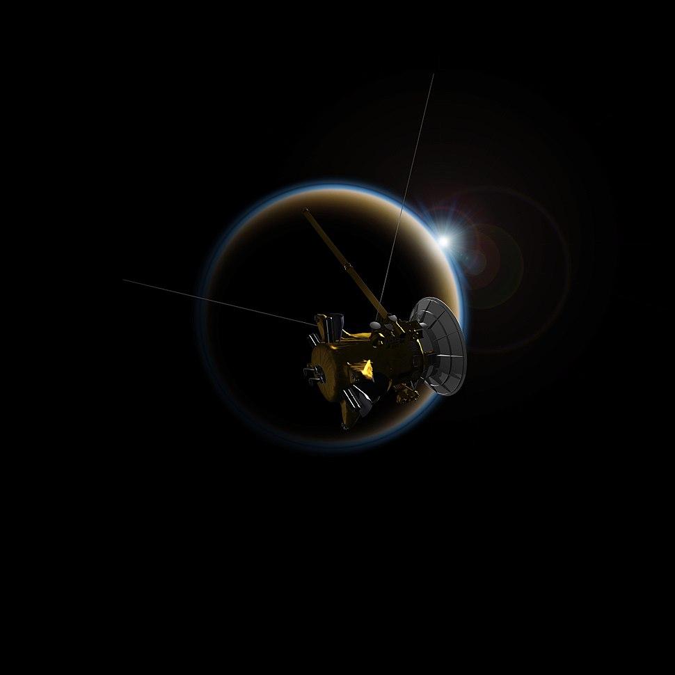 PIA18410-TitanSunsetStudies-CassiniSpacecraft-20140527