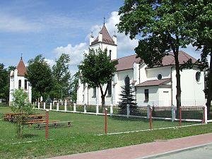 Ryczywół, Masovian Voivodeship - Catholic church in Ryczywół