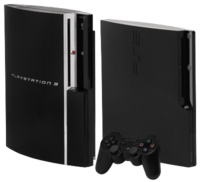 "60 GB PS3, 120 GB ""slim"" PS3 with controller"