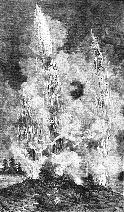 PSM V25 D521 Union geyser eruption in yellowstone national park august 1878.jpg