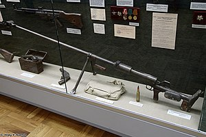 PTRD rifle at Great Patriotic War museum in Smolensk.jpg