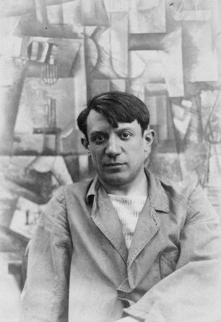 Pablo Picasso, summer 1912