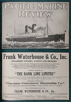 Pacific Marine Review - Image: Pacific Marine Review Cover April 1913