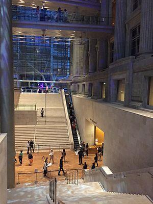 National Gallery Singapore - Padang Atrium