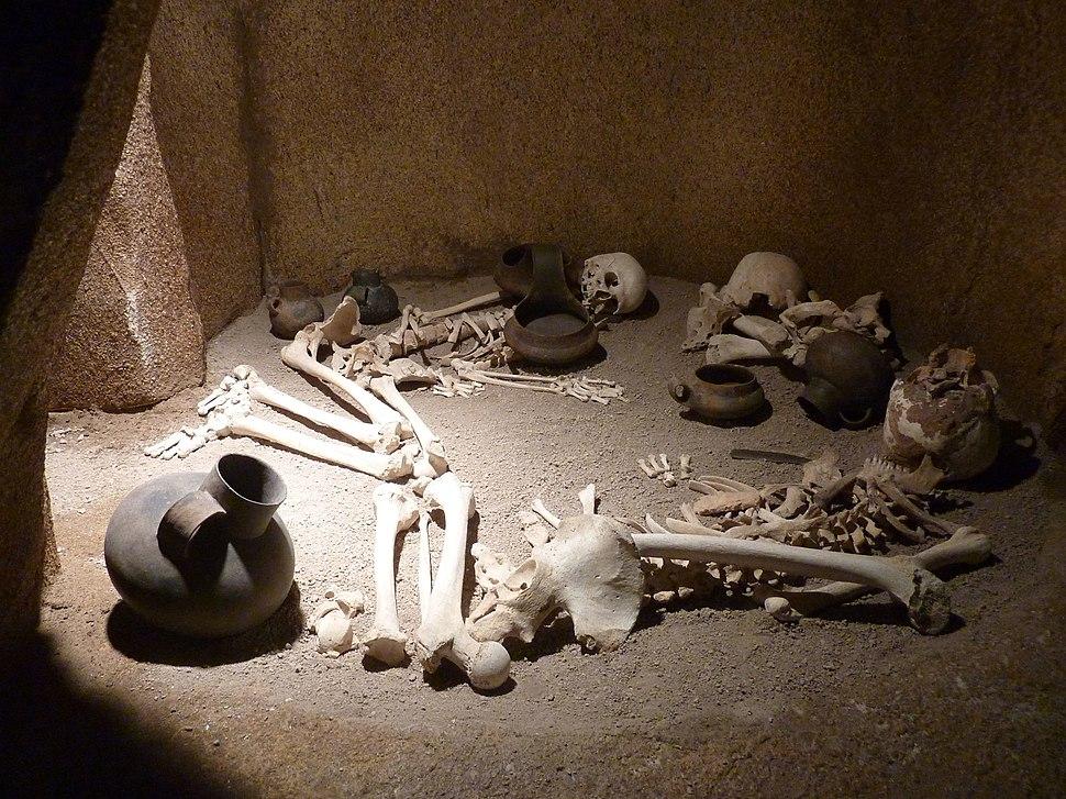 Paestum Skelette