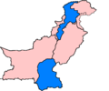 Pakistan subdivisions flood hit between July 3 and August 15 2007.png
