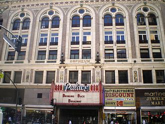 Broadway Theater District (Los Angeles) - Palace Theater