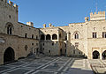 Palace of the Grand Masters of Rhodes - Main courtyard.jpg