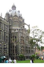 Palacio de la cultura, Plazuela Nutibara, Medellín