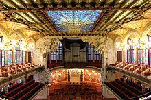 Palais de la musique catalane — Wikipédia