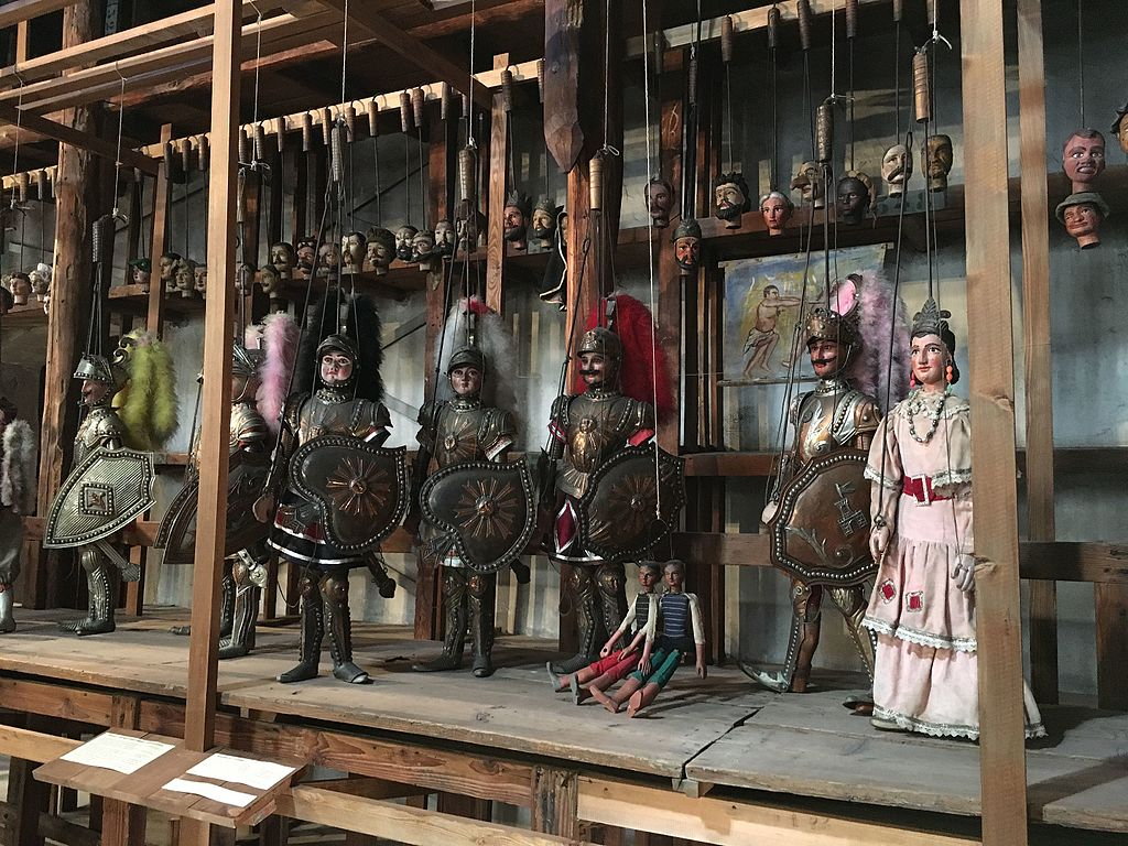 Collection de marionettes au Palazzo Branciforte de Palerme - Photo de Manuelarosi
