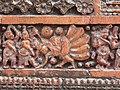 Pancharatna Gobinda Temple in Puthia, detail 05.jpg