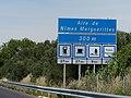 Panneau D46a Aire de Nîmes-Marguerittes 300 m.jpg