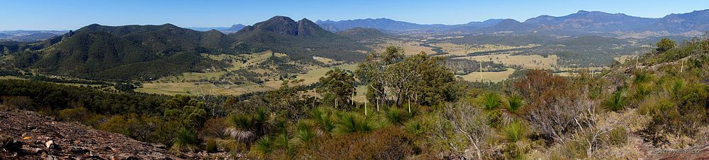 View from Mount Greville