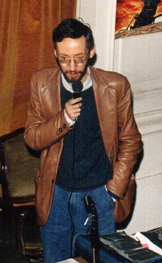 Paolo Farinella - Paolo Farinella during a public lecture in Genoa in May 1999
