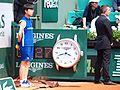 Paris-FR-75-open de tennis-25-5-16-Roland Garros-la pendule à Longines du Court Lenglen-08.jpg