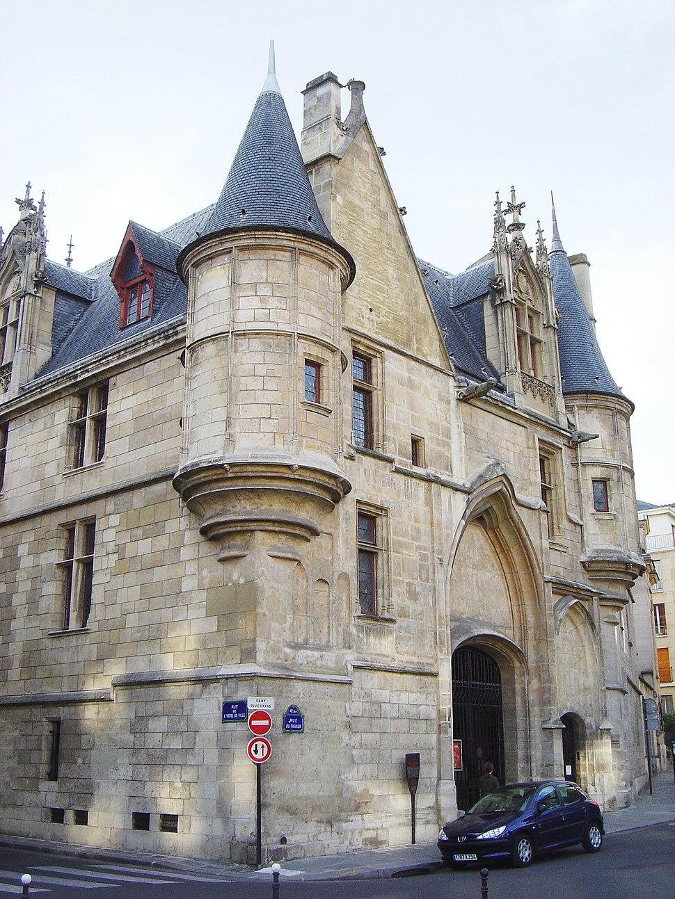 Paris Hotel de Sens dsc04028