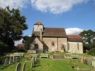 Clayton, West Sussex - The parish church from the south