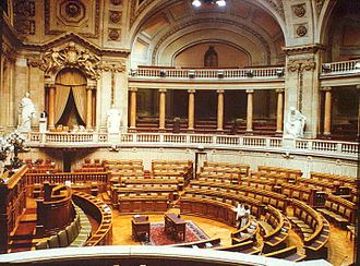 Assembly of the Republic (Portugal) - Image: Parlamento IPPAR1