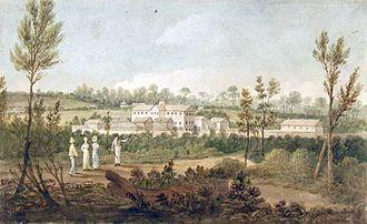 Convict women in Australia - Parramatta Female Factory, painted by Augustus Earle, c. 1826