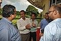 Partha Sarathi Saha Explains Preparation For Arun Goel Visit - Science City - Kolkata 2018-09-23 4269.JPG