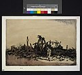 Passing Interest - wrecked ironworks on the Somme Art.IWMART838.jpg