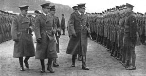 No. 1 School of Technical Training RAF - Image: Passing out of apprentices at Halton 1