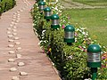 Path along Which Mahatma Gandhi Walked to His Assassination - Gandhi Smriti - New Delhi - India (12770413244).jpg